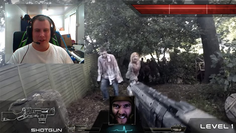 Chatroulette Live Action First Person Shooter FPS RealmPictures Interaktiv Menschen steuern
