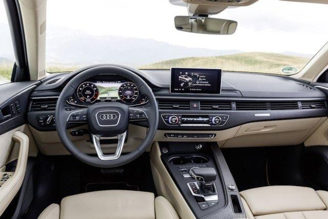 Audi A4 B9 Innenraum Cockpit Interieur Design virtual Cockpit