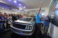 Vaugh Gittin Jr Premiere Ford Mustang RTR Selfie