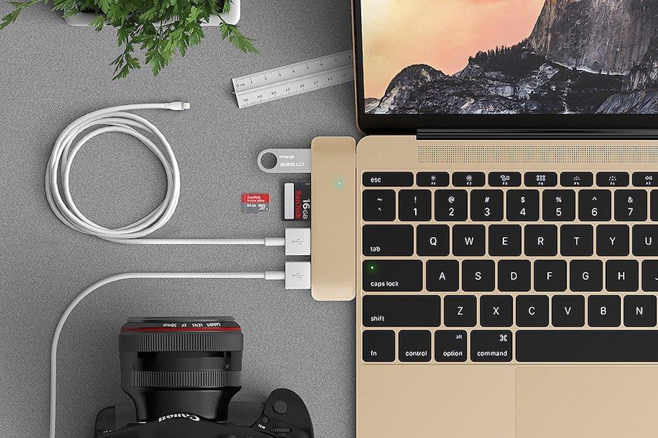 Satechi MacBook Type-C USB 3.0 Hub