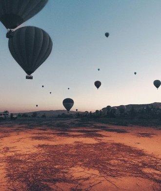 Watchtower of Turkey Hyperlapse Leonardo Dalessandri Türkei Landschaft Heißluftballons Berg Sonnenaufgang
