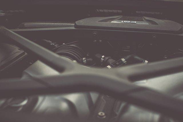 Audi R8 V10 plus FSI Motor Motorraum 5,2l Detail Intake