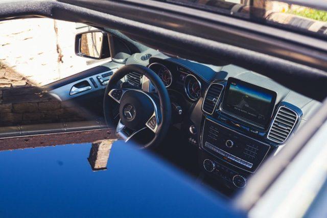 Mercedes-AMG GLS63 4MATIC Interior Interieur Cockpit Innenraum Leder Lenkrad COMMAND Online