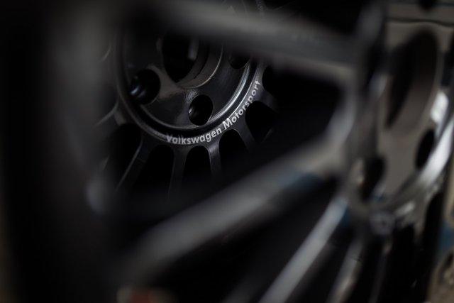Volkswagen Motorsport Rallye Felge Branding Polo WRC