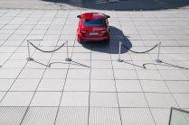 Lexus RC F Advantage Heck Rear Endrohre Diffusor Auspuffanlage Hyatt Düsseldorf Absperrung Sportwagen Coupé