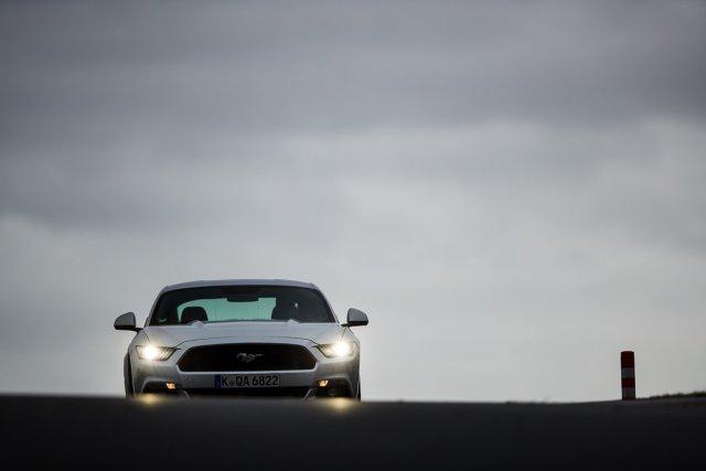 Ford Mustang GT 5.0 421 PS Bilster Berg Rennstrecke Racetrack Silber V8 Mausefalle Steilstrecke Lurking Waiting Beast Dunkel Xenon