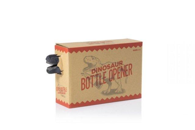 Dinosaur Bottle Opener Suck UK Gadget Witzig Verpackungsdesign Dinosaurier Flaschenöffner Scherzartikel Wichteln Weihnachtsgeschenk