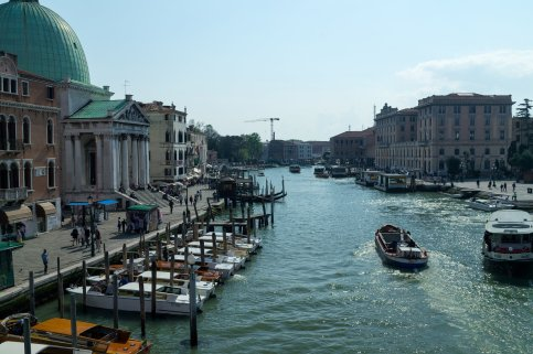 Venedig Venezia Venice Italien Romantik Romance Romantisch Urlaub Lifestyle San Simeone Piccolo Schiffe Stege Anlegesteg Canal Grande