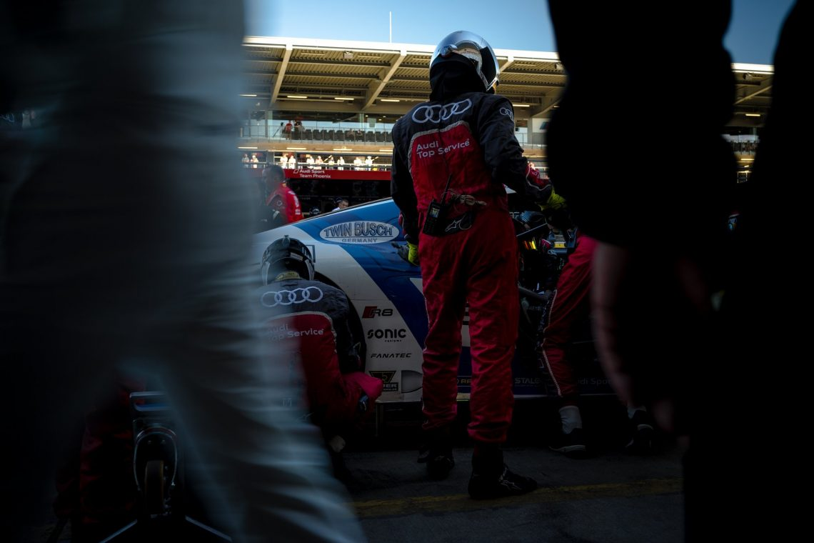 45. ADAC Zurich 24h Rennen Nürburgring Audi R8 LMS GT3 Phoenix Racing Mike Rockenfeller Nicolaj Moller Madsen