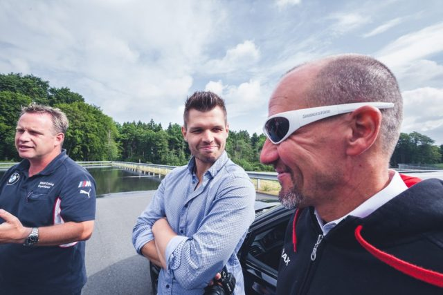 BMW M Intensive Training Bilster Berg Bridgestone Christian Mathes Lachen