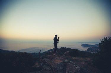 Sonnenaufgang Cote d' Azur