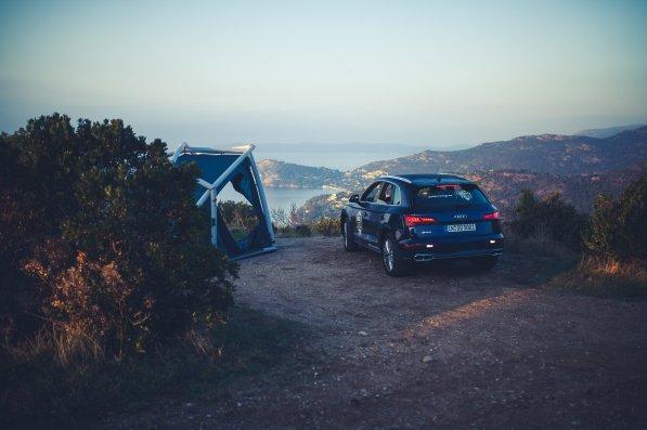 Heimplanet Audi Zelt