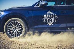 Audi SQ5 Mehrspeichenfelgen Staub Sand