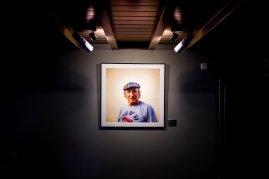 Jackie Stewart Bilderrahmen Portrait Lampen Strahler Decke grau