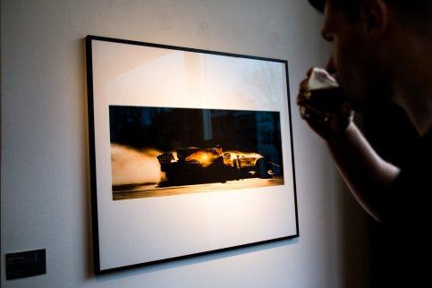 Kaffee Glas Red Bull Racing Formel 1 Rennwagen Bild Passepartout