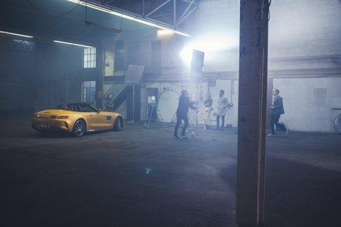 Car Commercial Shooting Frederic Schlosser BTS Equipment Assistant