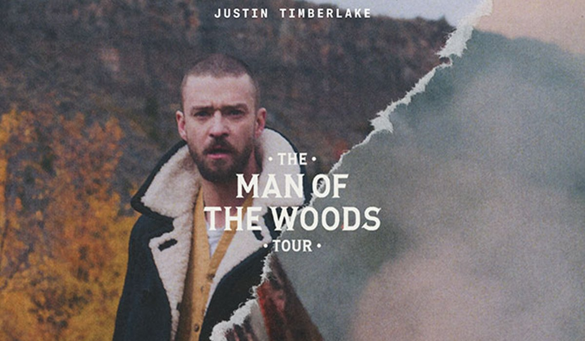 Mann Jacke Wald Papier Rauch Man of the woods Tour