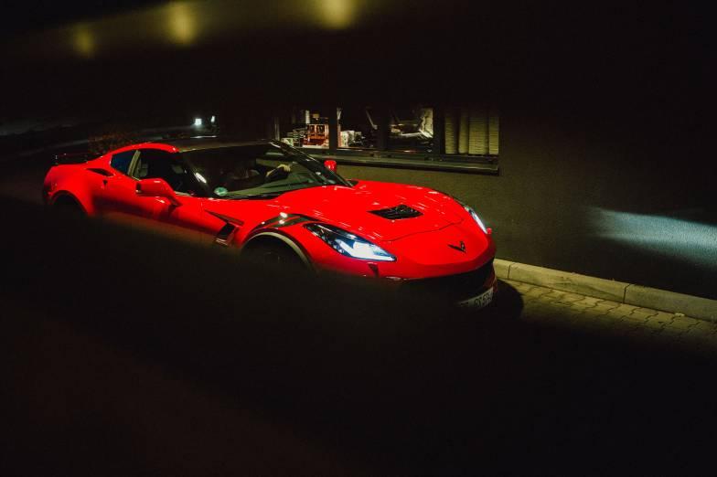Chevrolet Corvette Grand Sport Torch Red