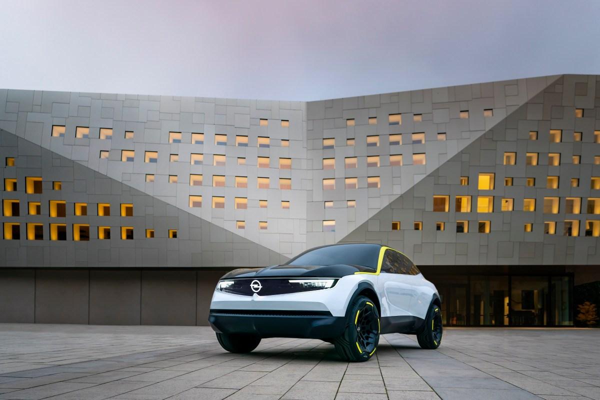 Architektur Opel GT X Experimental Front