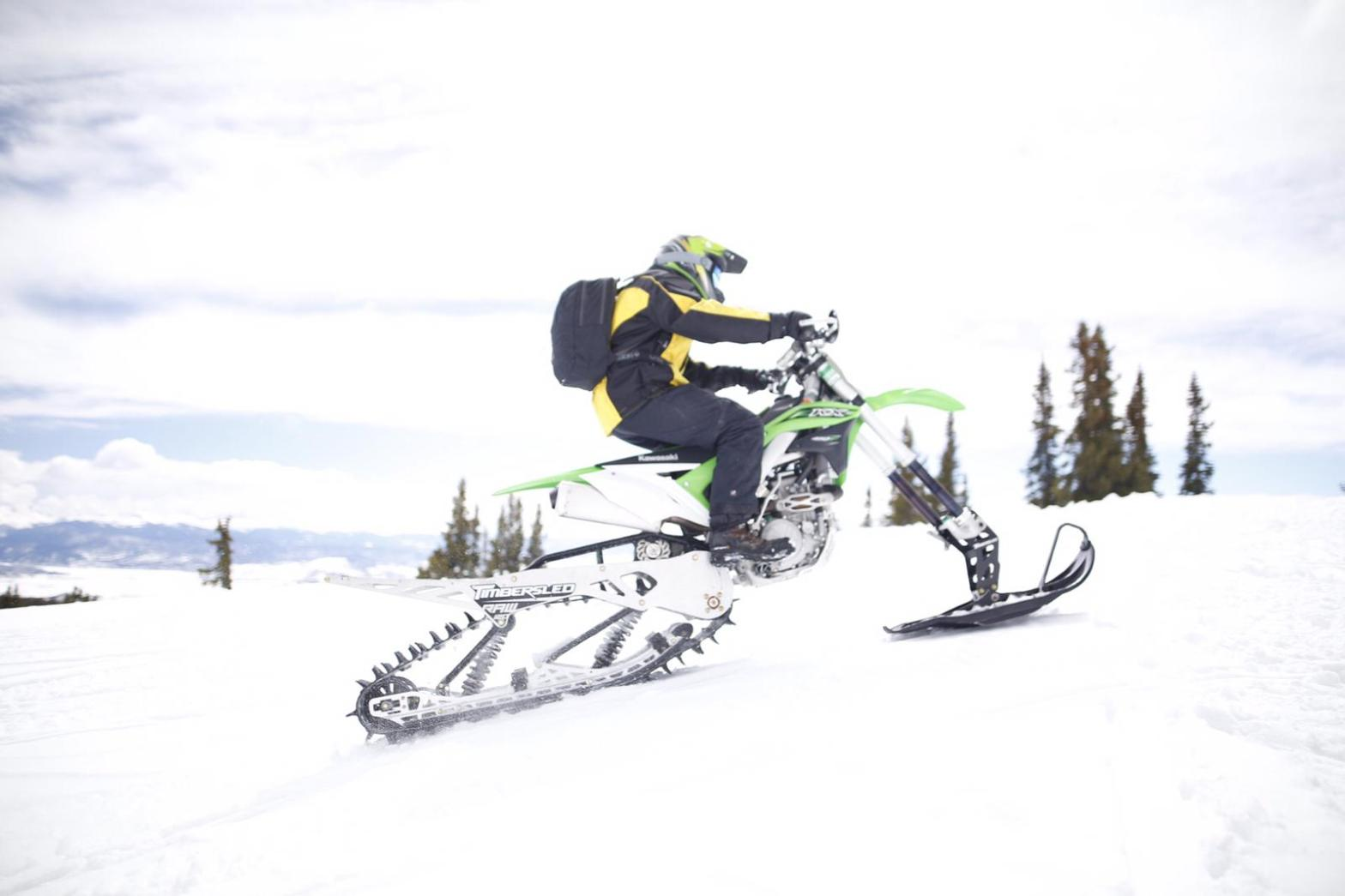 Timbersled RAW 120 Snow Bike-Kit