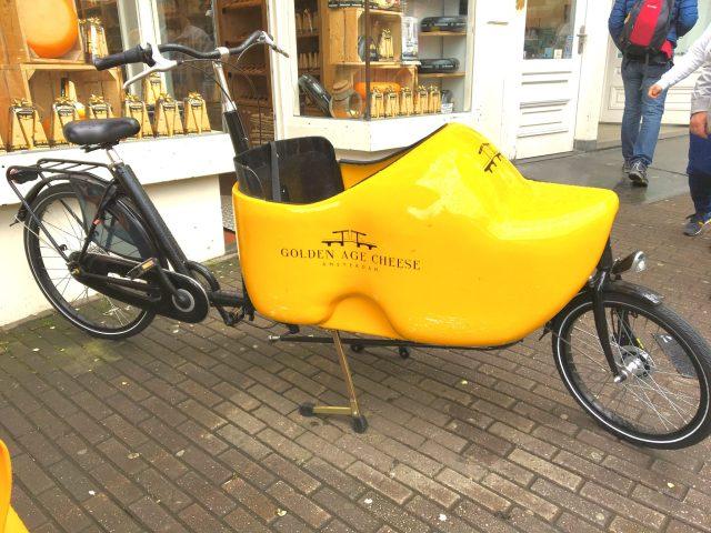 Clog Shoe Bike in Amsterdam