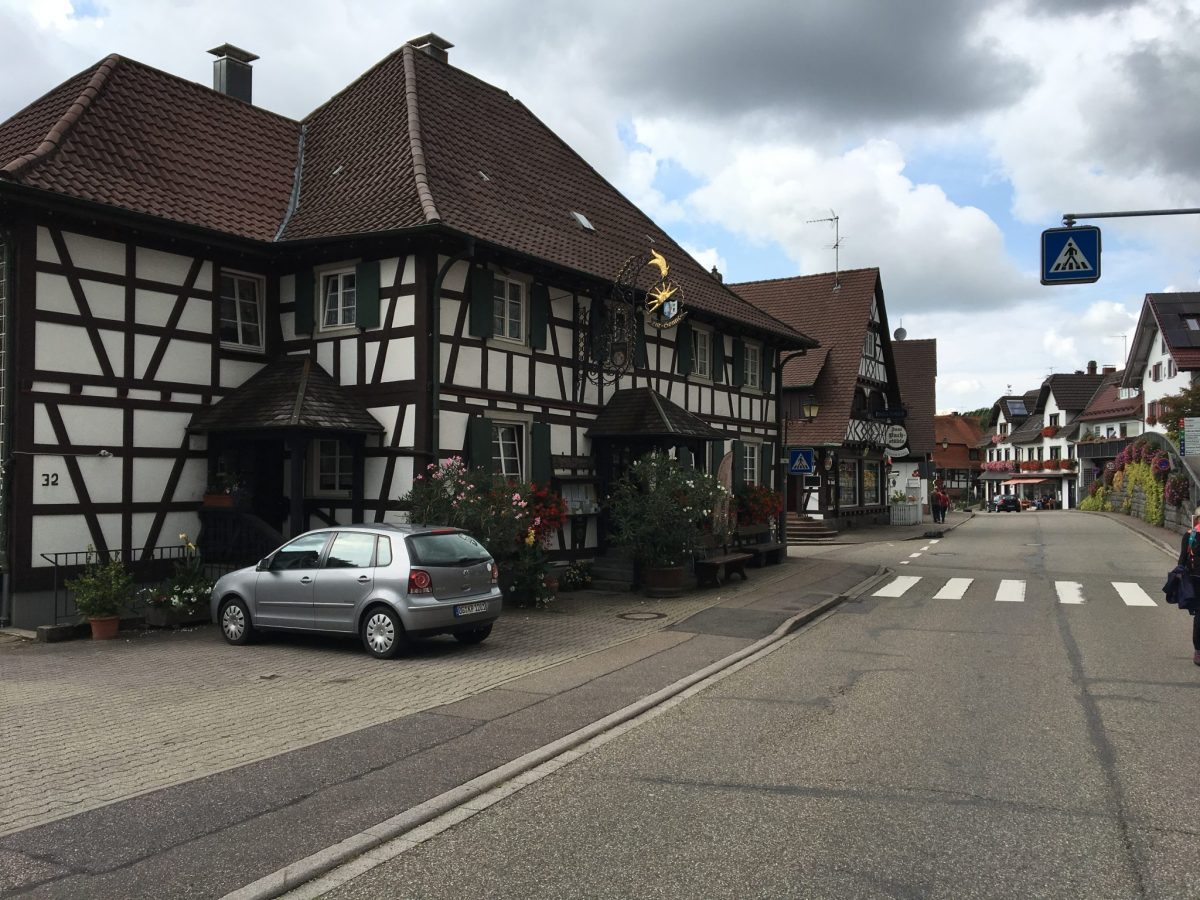 Main Street Sasbachwalden Breathtaking Black Forest escorted motorhome tour