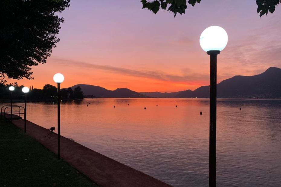 "Sunset Lake Iseo Escorted Motorhome Tour ""Impressive Italian Lakes & Cities"" 2019"