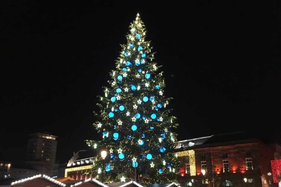 Christmas tree Strasbourg 2018