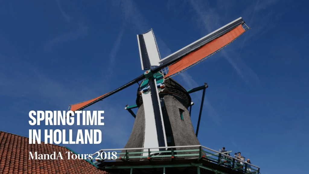 Photo Title Tour Impressions Springtime in Holland 2018