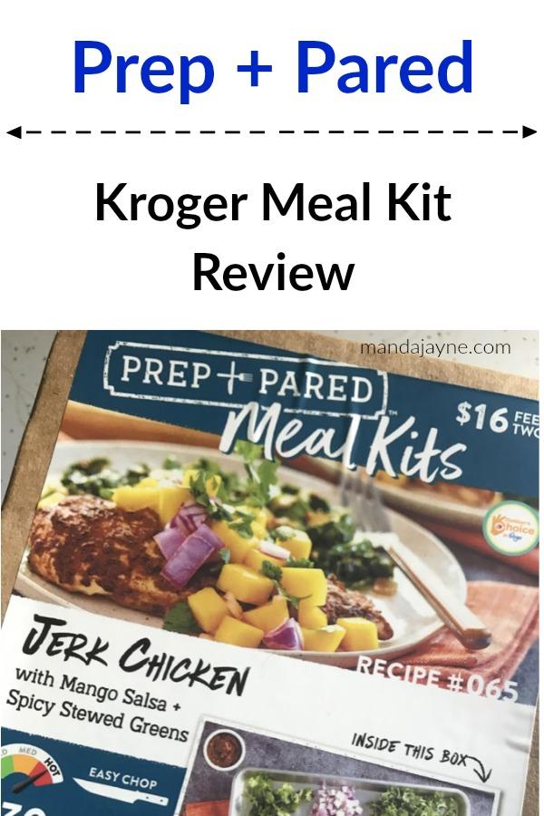 Kroger Meal Kit Review