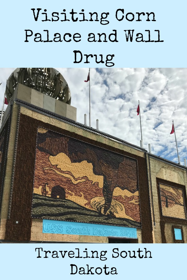Visiting Corn Palace and Wall Drug