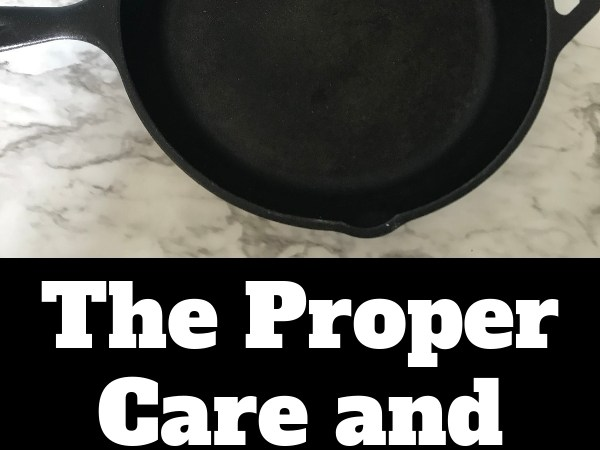 The Proper Way to Care for Your Cast Iron