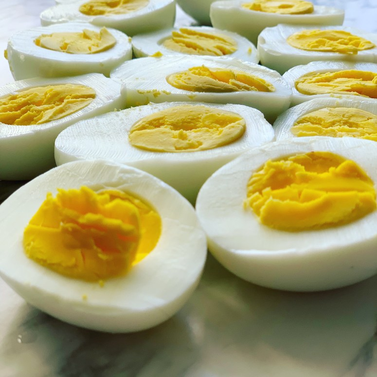 Hard Boiled Eggs Made From the Instant Pot