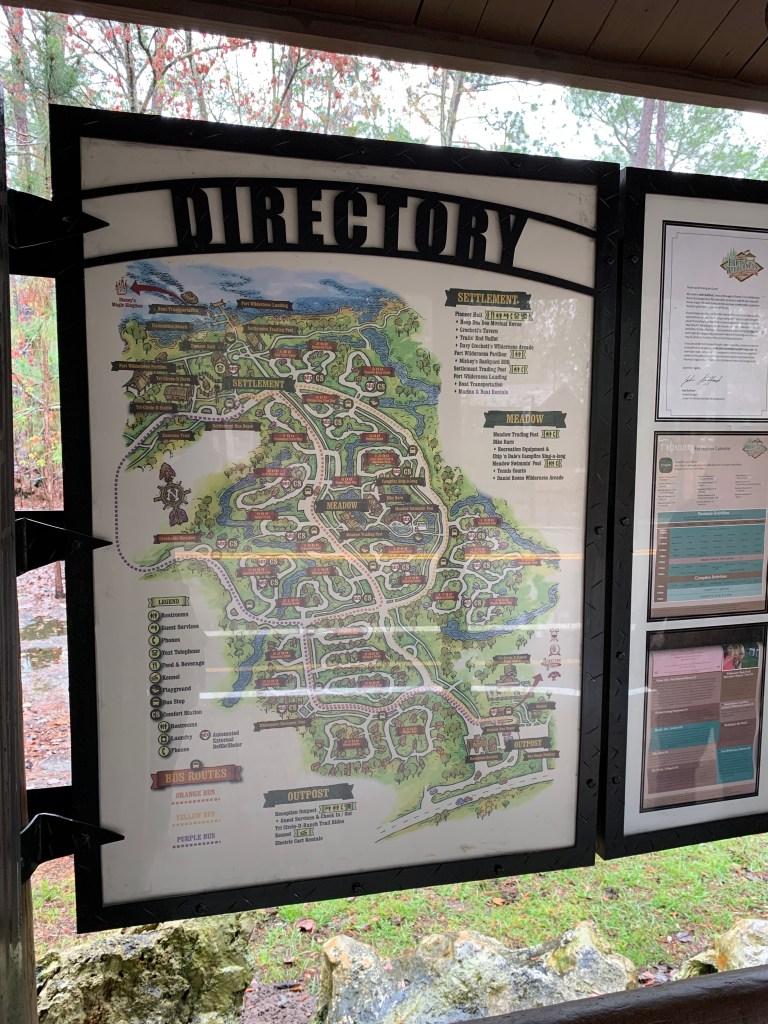 Fort Wilderness Directory.