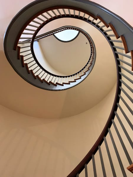 Spiral Staircase at Trustees Office