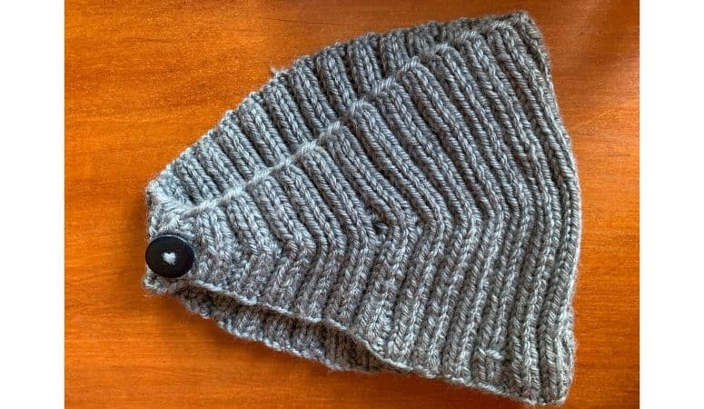 a headband from the pattern calorimetry