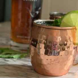 kentucky mule in a copper mug