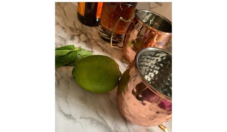ingredients for a kentucky mule drink