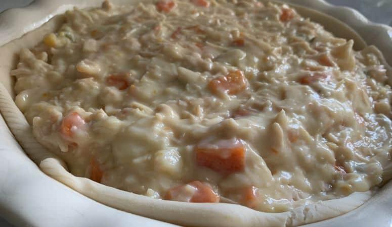 Easy Chicken Pot Pie Recipe Using Canned Chicken