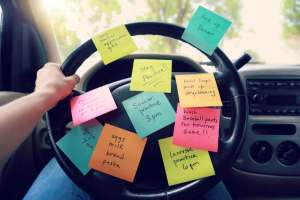 busy mother driving | Counseling for Women | Mandala Counseling Group | Brownsville, TX