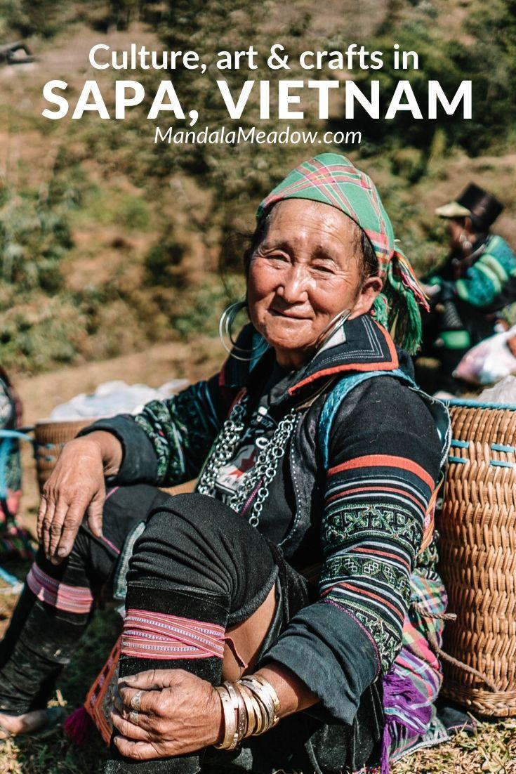 Local culture, arts and crafts in Sapa Vietnam