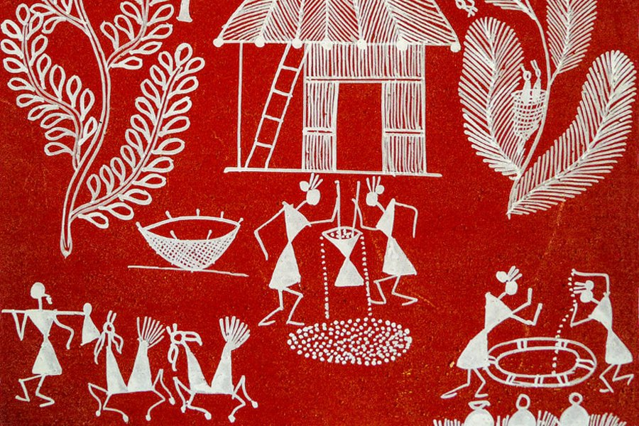 Traditional art and crafts in India _ Warli Art