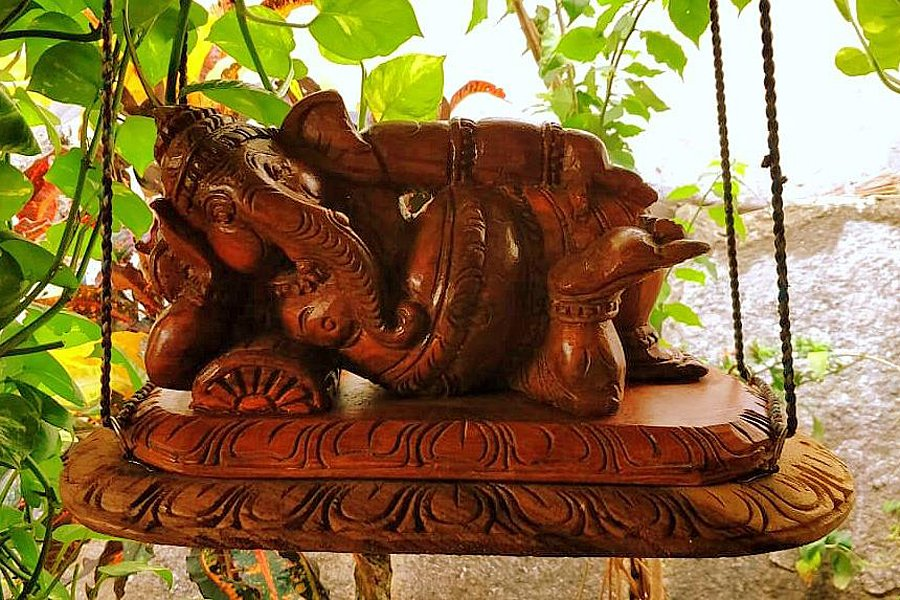 Wood carving in India