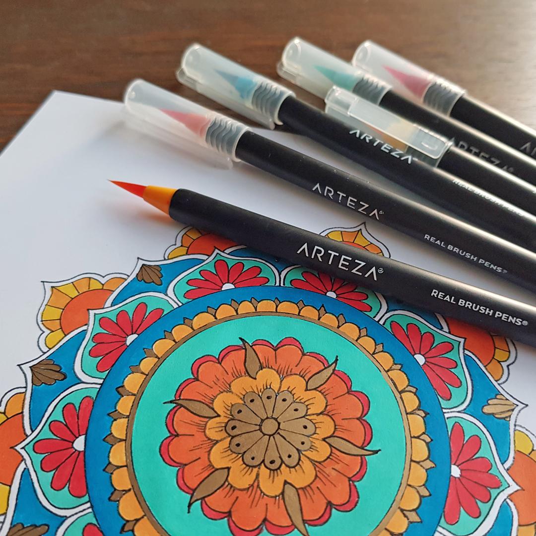 Arteza Reall Brush Pens