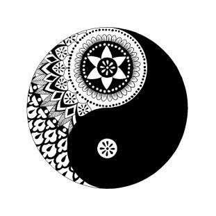 Yin Ynag Mandalas