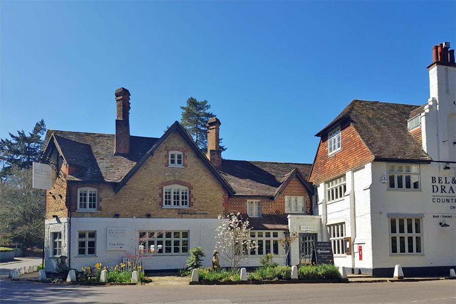 Bel & the Dragon, Churt, Surrey