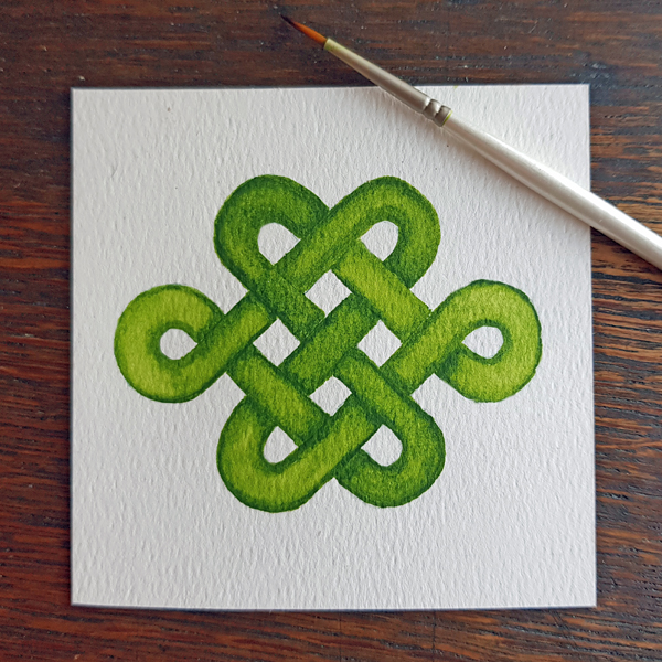How to draw Celtic knots | Live Online Art Class