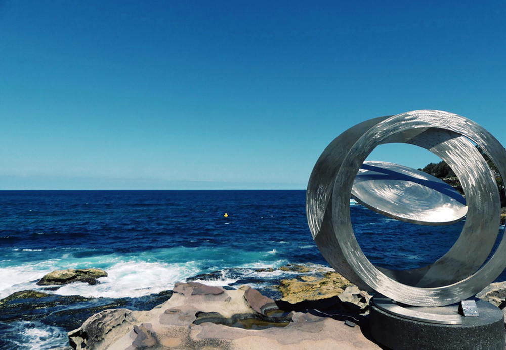 One the best sculpture trails in the world, Sculpture by the Sea, Australia