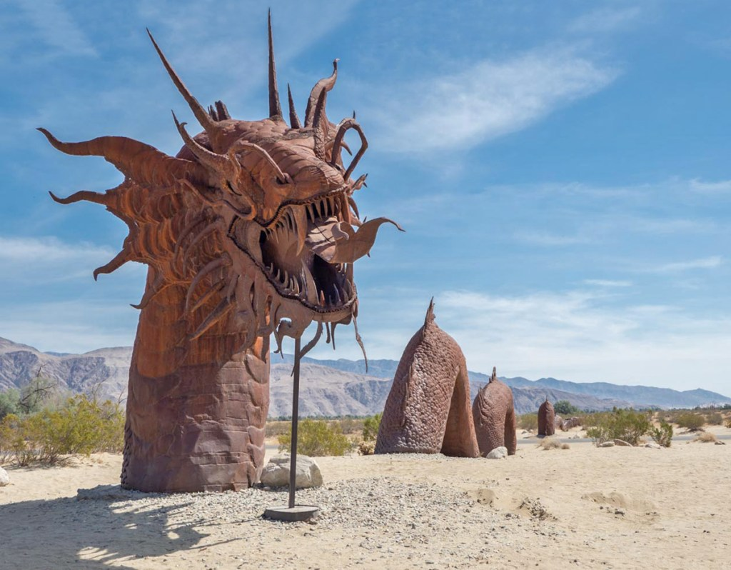 Anza Borrego Breceda Sculptures, California, USA