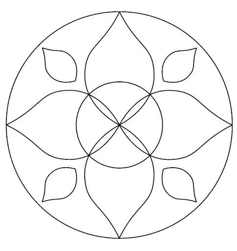Mandalas Faciles De Dibujar Para Ninos Tattoos Ideas